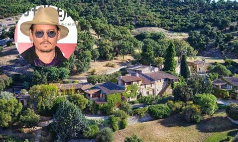 Johnny Depp selling his French village for $26 million
